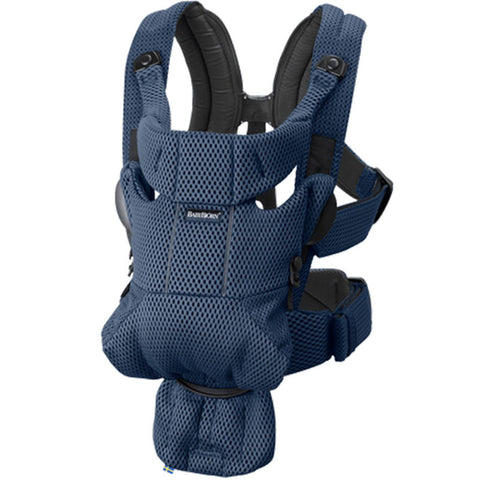 BabyBjorn Free Ergonomic & Adjustable Baby Carrier navy blue dark