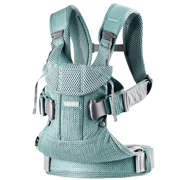 Outlet BabyBjorn Ergonomic One Air Cool Mesh Adjustable Baby Carrier frost green light blue