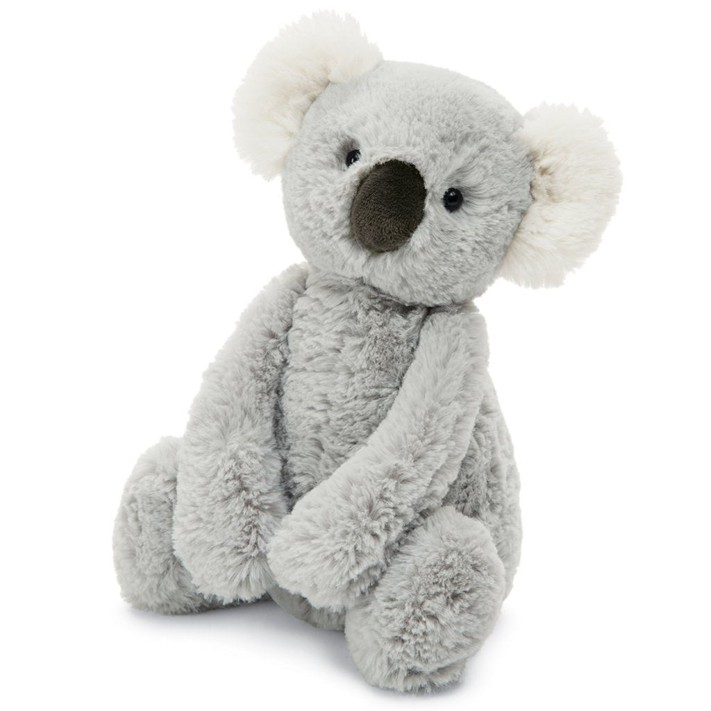 Jellycat Medium Bashful Stuffed Animals koala australia grey
