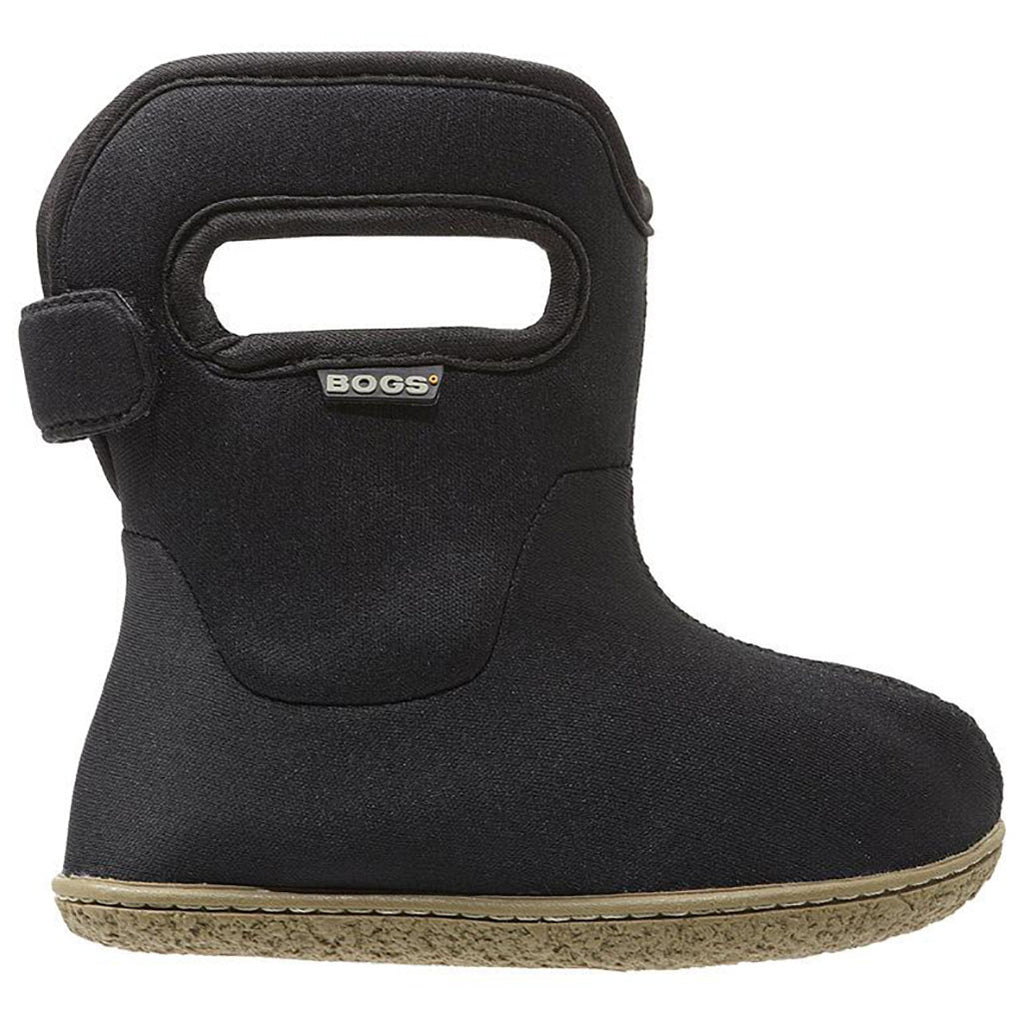 BOGS Baby Solid Color Waterproof Boots black