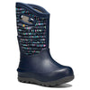lifestyle_1, BOGS Neo-Classic Twinkle Dark Blue Toddler Boot Shoes