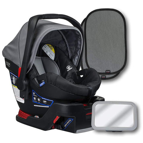 B-Safe 35 Infant Car Seat Bundle Set | Britax US dove grey dark melange