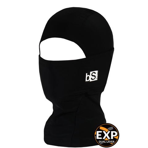 BlackStrap Kids Expedition Hood Dual Layer Balaclava Face Mask black