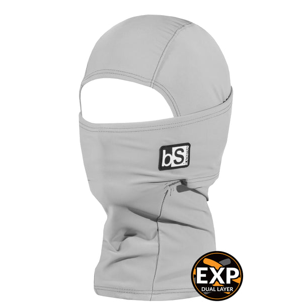 BlackStrap Kids Expedition Hood Dual Layer Balaclava Face Mask steel grey