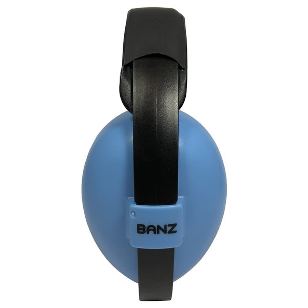 Banz Hearing Protection Earmuffs baby sized sky blue