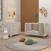 lifestyle_2, dadada White Brooklyn 3-Drawer Dresser Children's Nursery Furniture