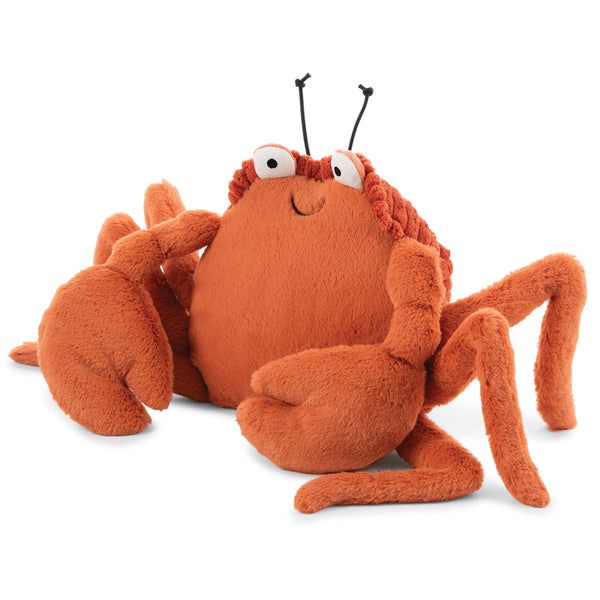 Jellycat Sea Creatures Stuffed Animals crispin crab red