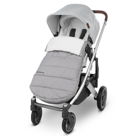 UPPAbaby Stella CozyGanoosh Footmuff Children's Stroller Accessory light grey