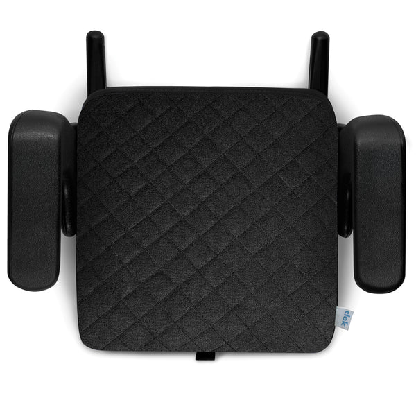 Clek Olli Child Safety Booster Car Seat shadow x black quilted