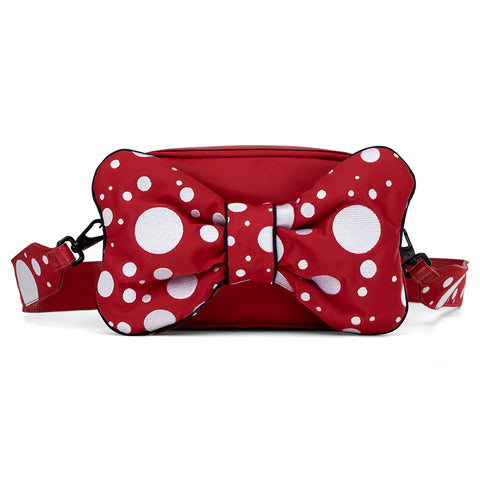 Cybex Petticoat Red Changing Bag with Mat Baby Essential white polkadots bow