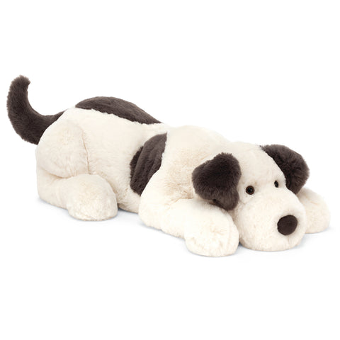 Jellycat Dashing Dog Plush Children's Stuffed Animal Toy white black spots regular sized
