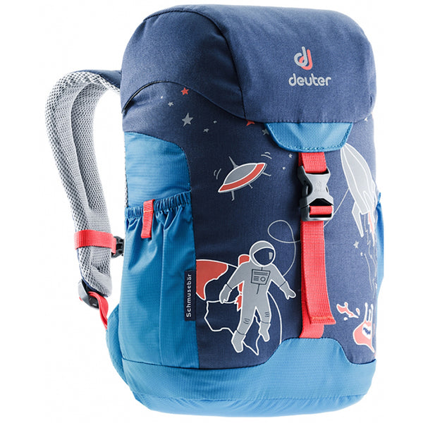 Deuter Schmusebar Child Backpack midnight cool blue dark light space astronaut