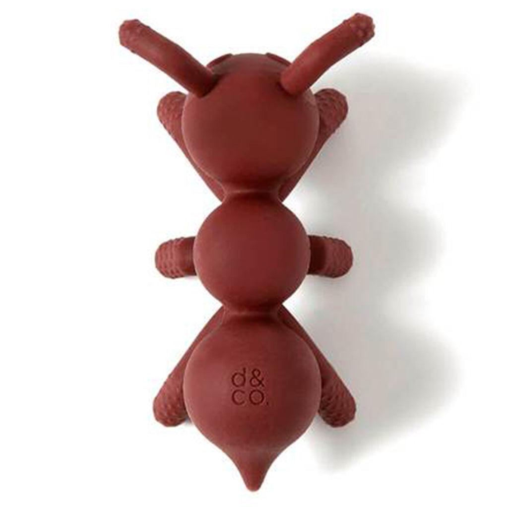 Doddle & Co. The Chew Poppable Infant Baby Silicone Teether Toy ant-icipation red ant