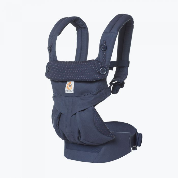 baby carrier with lumbar support