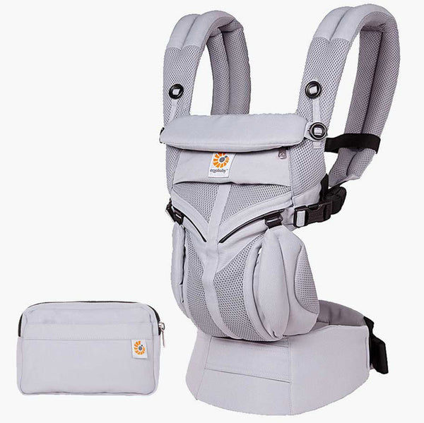 Ergobaby Omni 360 Baby Carrier lilac grey purple cool air mesh