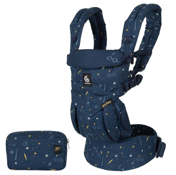 Ergobaby Omni 360 Baby Carrier lumos maxima harry potter special edition navy blue