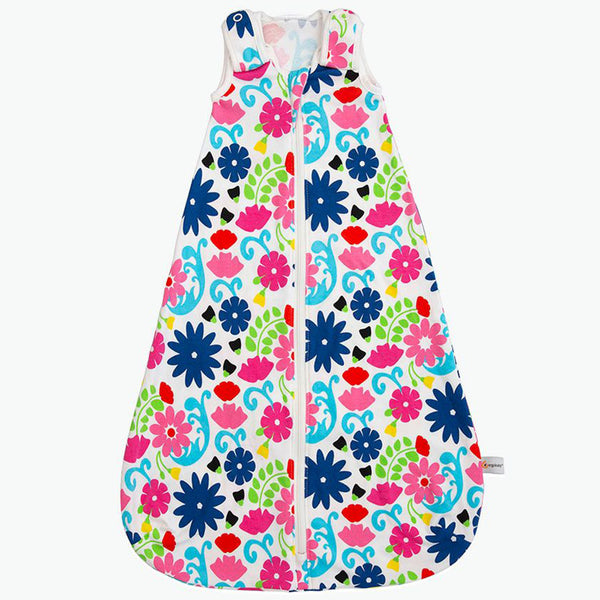 Ergobaby Adjustable Baby Sleeping Bag for 0-6 Months french bull flores multicolored floral