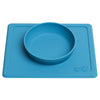 lifestyle_3, EZPZ Silicone Mini Bowl All-in-One Placemat and Bowl for Baby blue