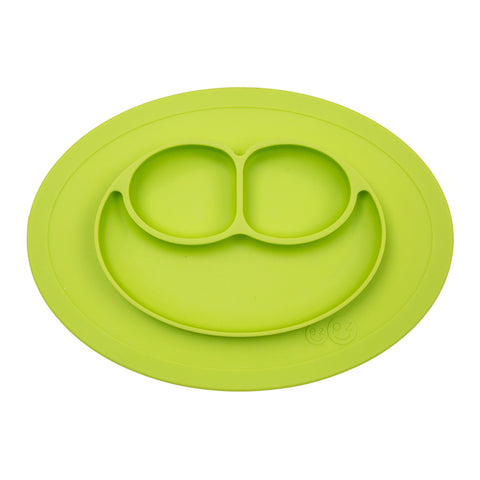 EZPZ 100% Silicone Mini Mat Placemat for Children lime green
