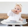 lifestyle_2, EZPZ Silicone Tiny Spoon Infant Baby Feeding Spoon Utensil Set 2-pack