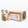 lifestyle_1, Goose Grease Organic Family Kid's Handmade Wooden Peg Doll Toy