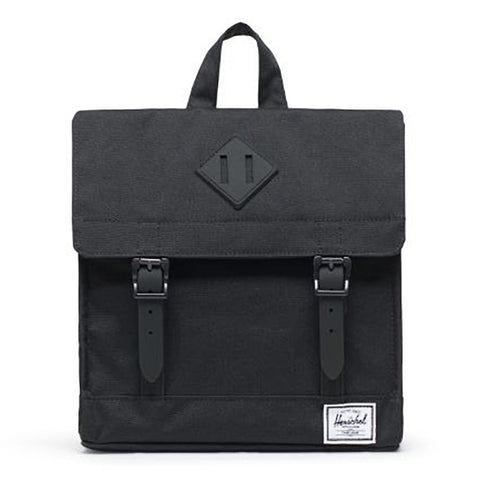 Herschel Children's Survey Backpack Book Bag black rubber