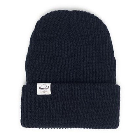 Herschel Quartz Waffle Knit Youth Beanie Hat black