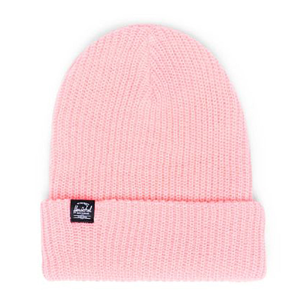 Herschel Quartz Waffle Knit Youth Beanie Hat flamingo pink bright