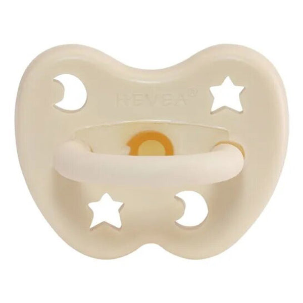HEVEA 100% Pure and Natural Rubber Baby Pacifier milky white