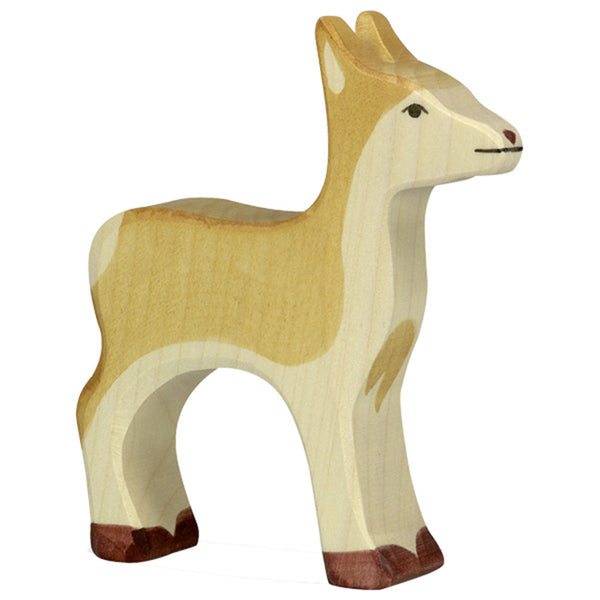 Holztiger Wooden Safari Animals Children's Toys beige natural deer female