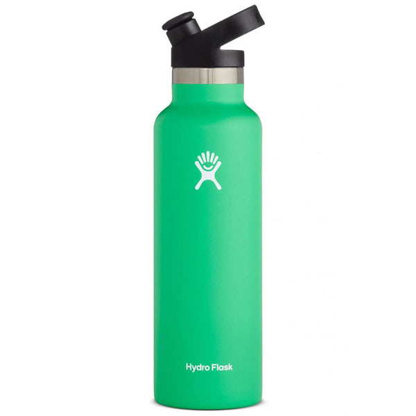 Hydro Flask Standard Mouth Stainless Steel Water Bottle with Sport Cap  20 ounce spearmint green