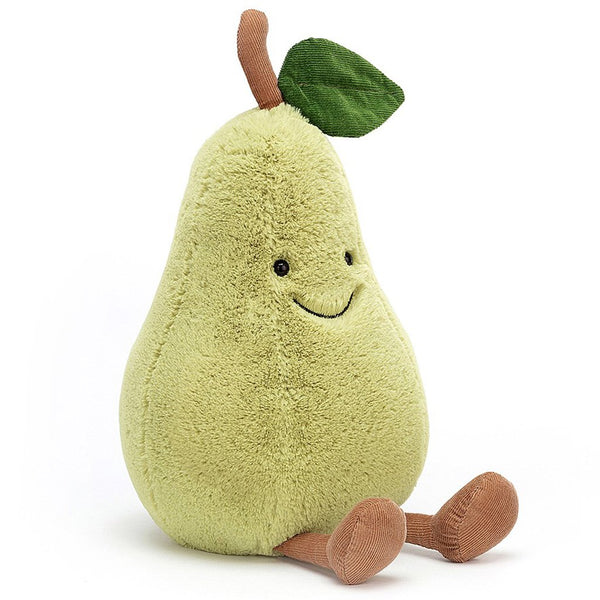 Jellycat Amuseables Stuffed Animals pear green fruit