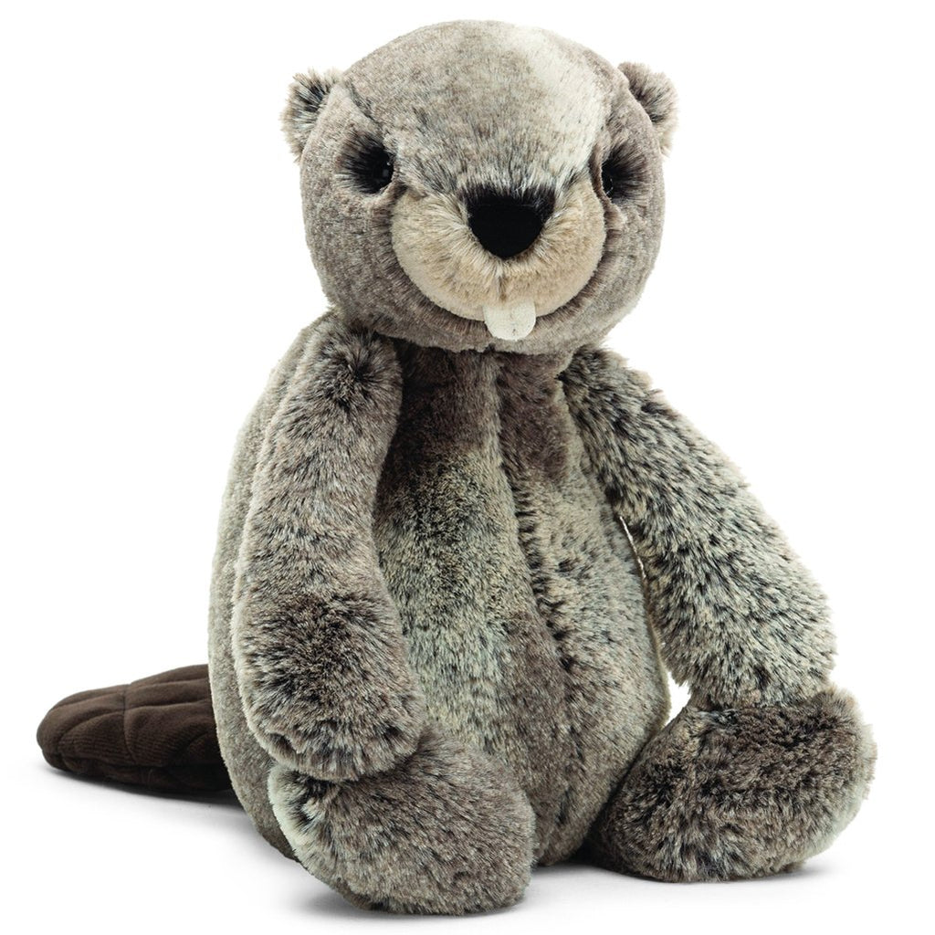 Jellycat Medium Bashful Stuffed Animals beaver