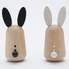 lifestyle_1, Kiko+ Usagi Bunny Chimes Japanese Minimalist Children's Wooden Toy black white
