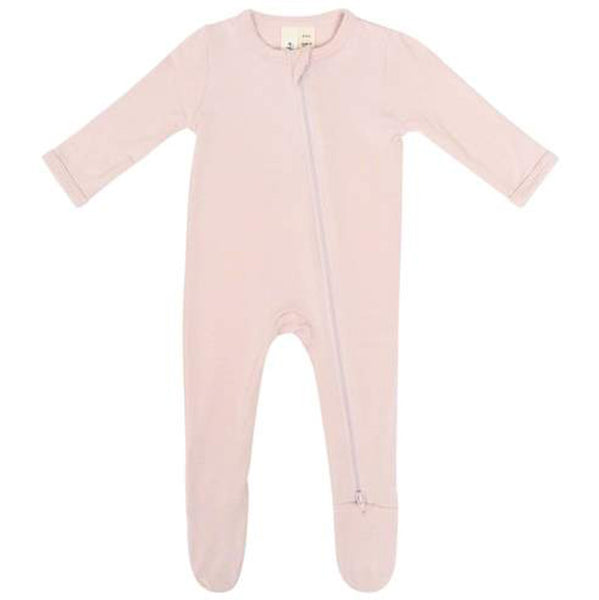 Kyte Baby Zipper Footie Infant Baby One-Piece Clothing Apparel blush pink