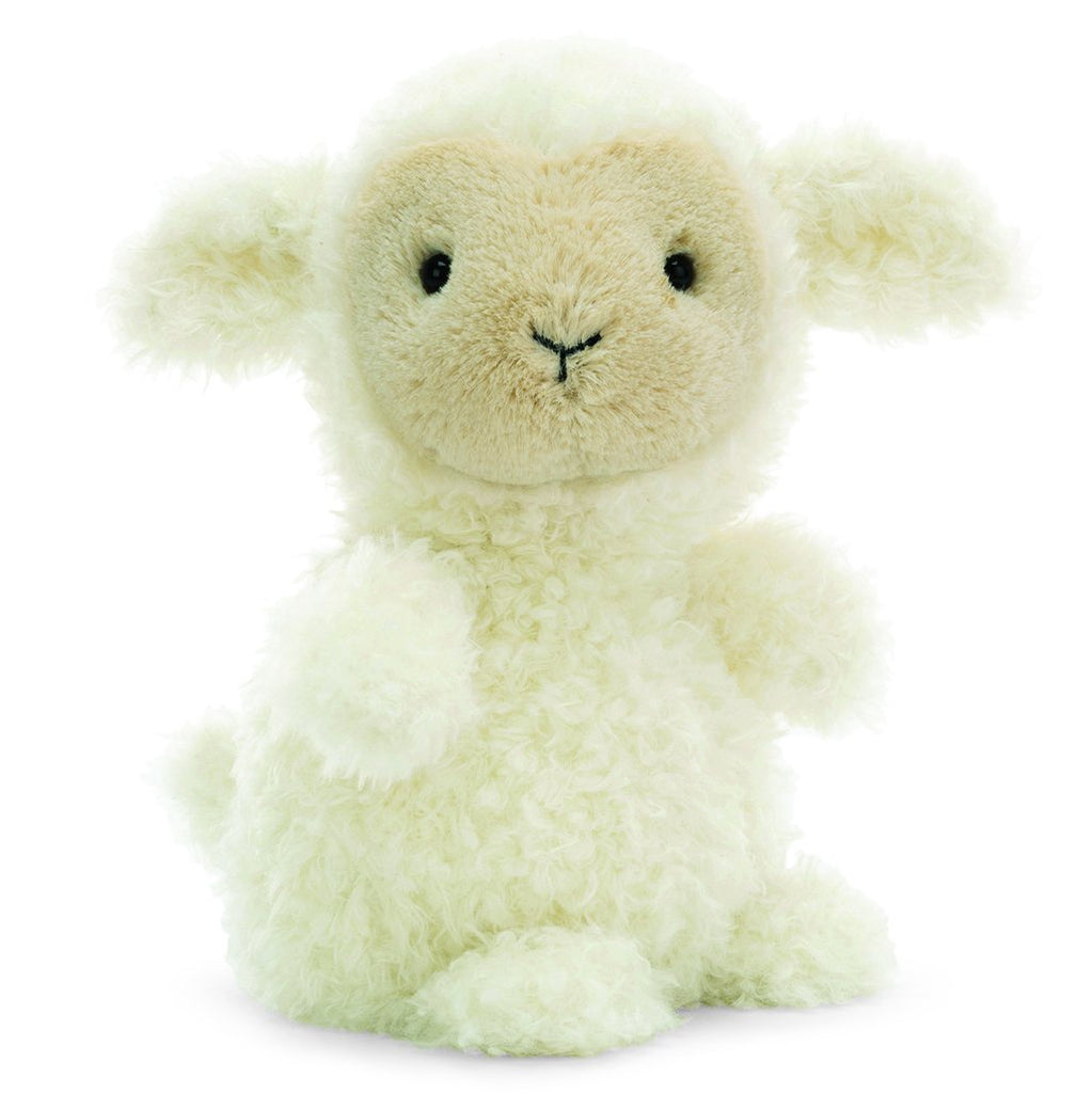 Jellycat Lamb Little Pets Plush Children's Stuffed Animal Toy white cream