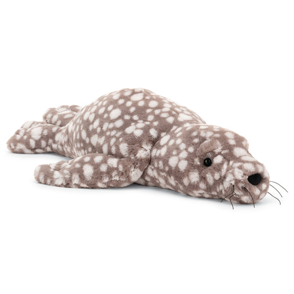 Jellycat Sea Creatures Stuffed Animals linus sea lion brown white spots