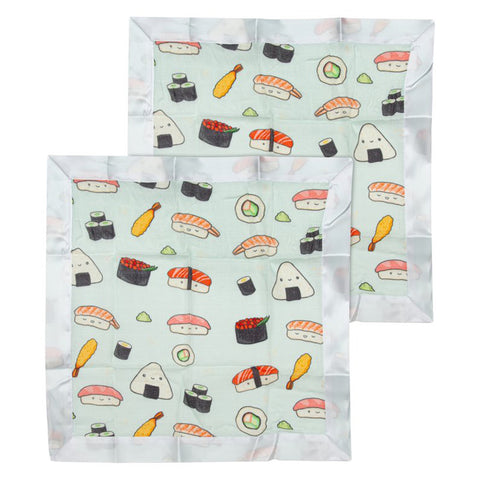 LOULOU-SECURITY-BLANKET-SUSHI sushi light green rolls nagiri sashimi