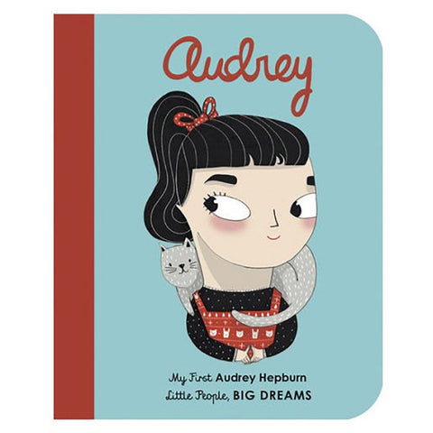 My First Little People, BIG DREAMS Children's Books  audrey hepburn mini