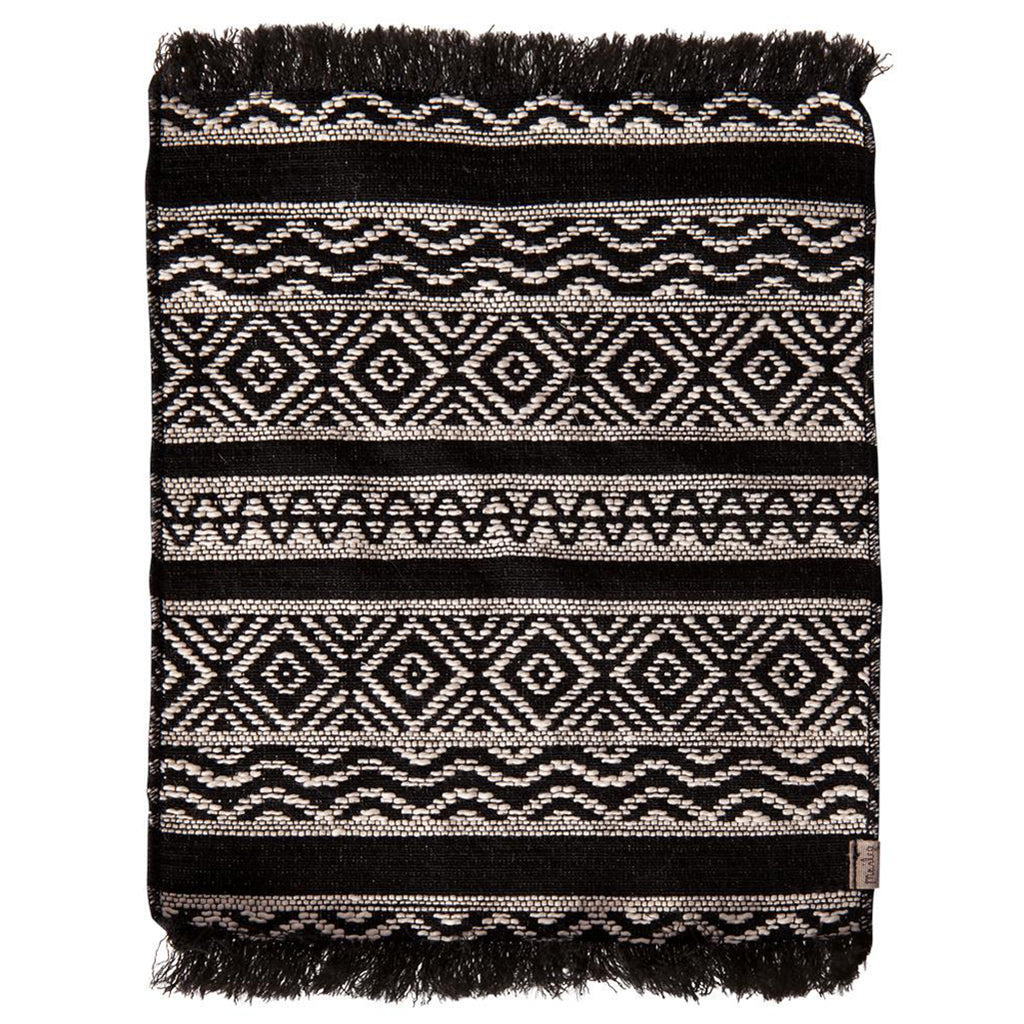 Maileg Miniature Rug Children's Dollhouse Doll Toy Accessory black