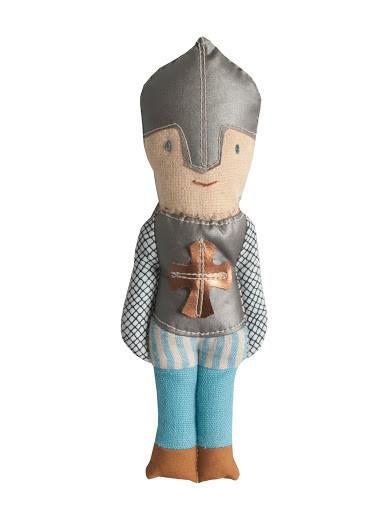 Maileg Cotton Character Baby Rattles knight