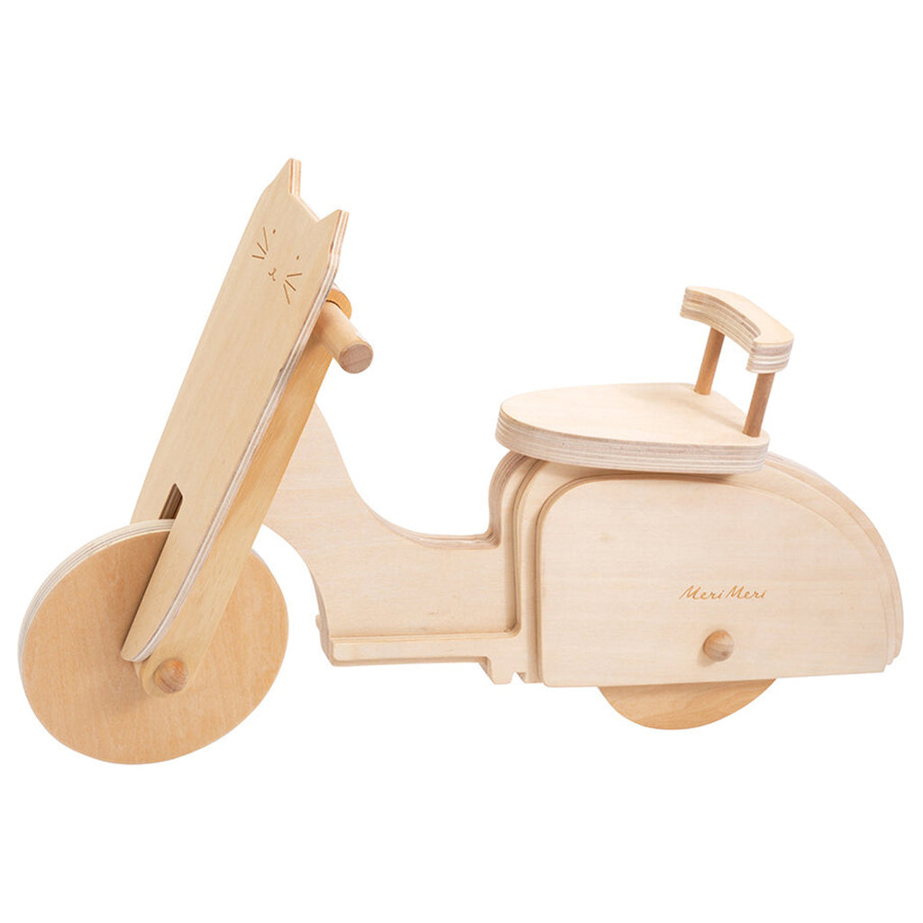 Meri Meri Cat Scooter Children's Wooden Doll Accessory Toy