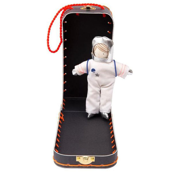 Meri Meri Children's Mini Doll & Suitcase Set astronaut spaceman suit