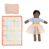 lifestyle_3, Meri Meri Children's Mini Doll & Suitcase Set ruby includes bed pillow