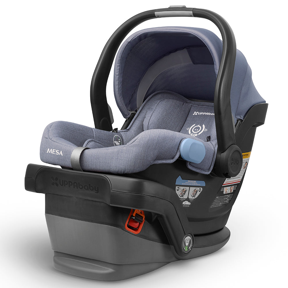 UPPAbaby Intuitive MESA SmartSecure™ System Infant Car Seat henry blue  with base
