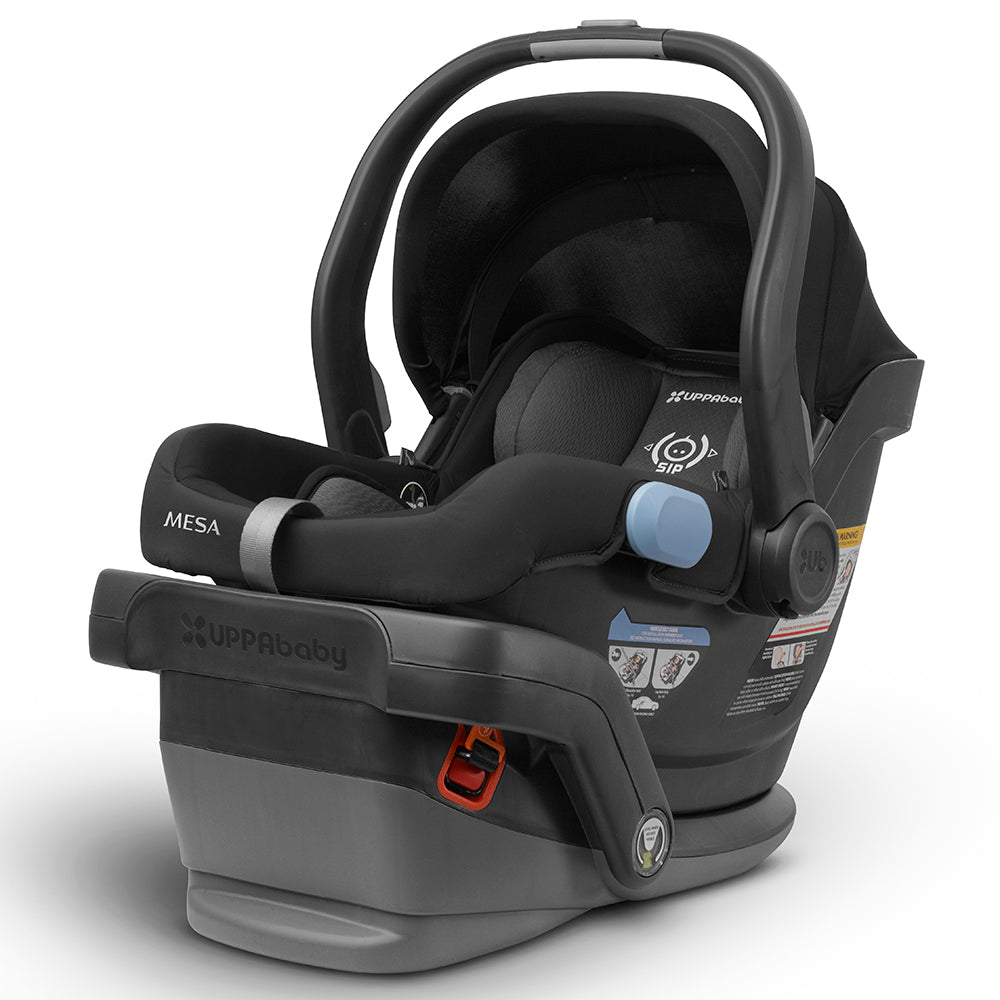 UPPAbaby Intuitive MESA SmartSecure™ System Infant Car Seat jake black with base
