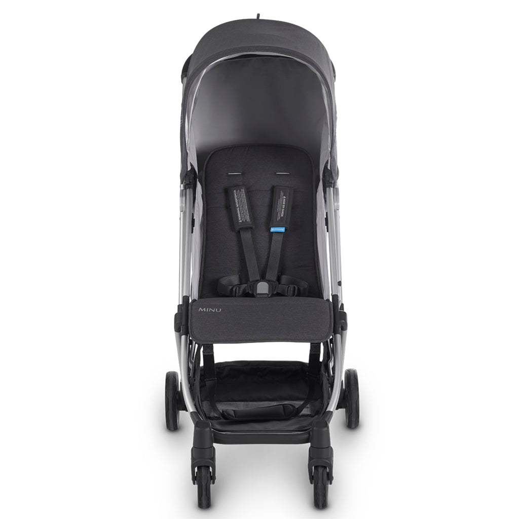 UPPAbaby Jordan MINU Compact Stroller + From Birth Kit Travel System dark grey