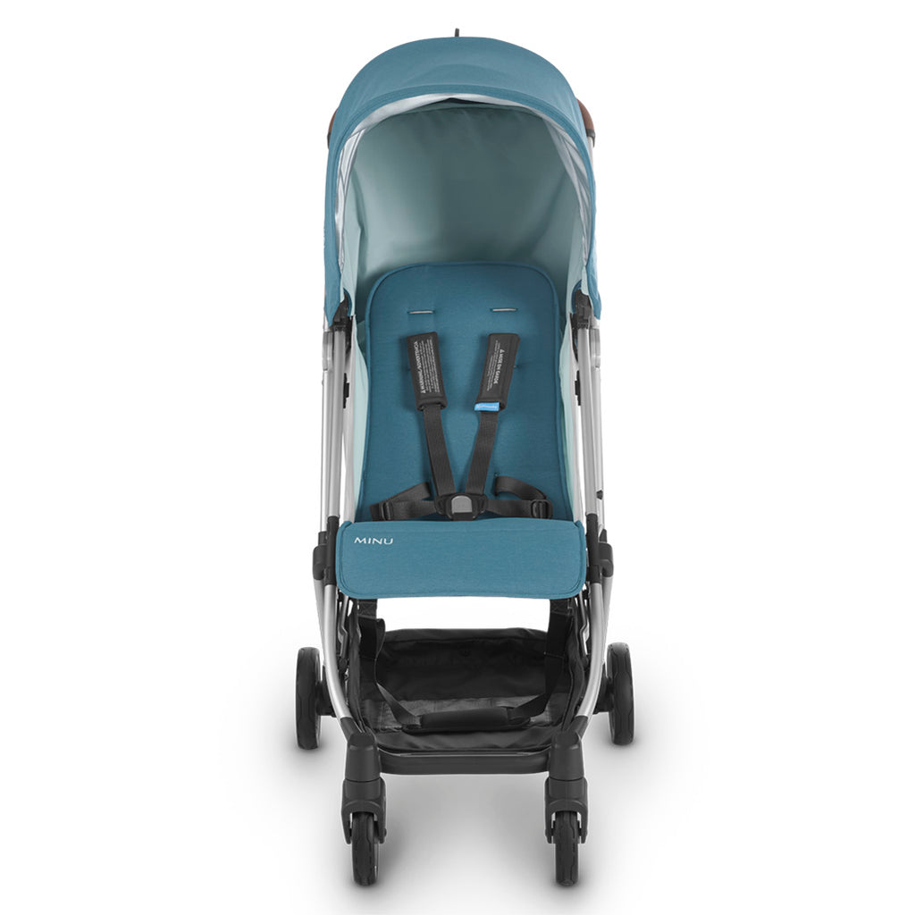 UPPAbaby Ryan MINU Compact Stroller + From Birth Kit Travel System blue