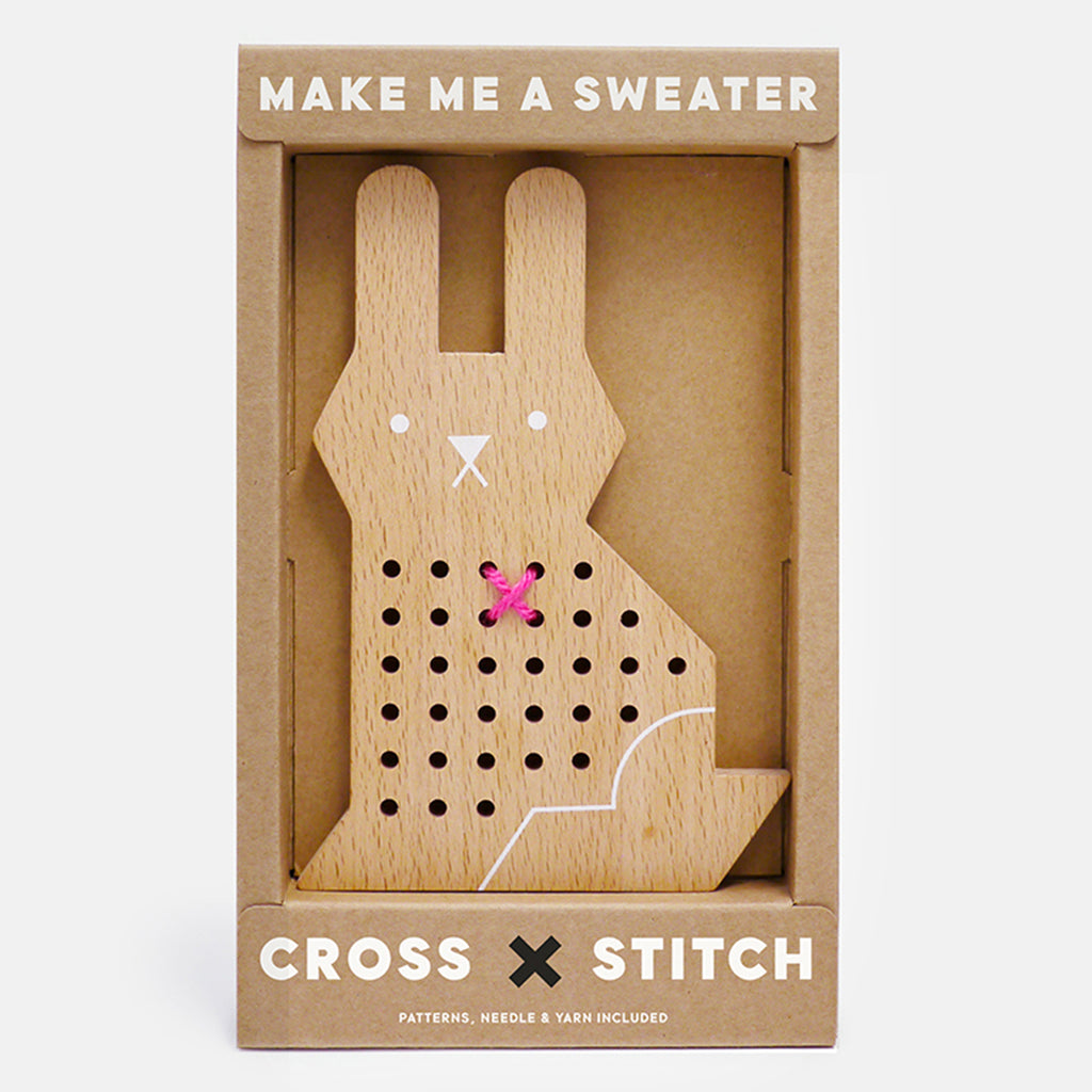 lifestyle_1, Moon Picnic Rabbit Cross Stitch Friends Kid's Arts & Crafts Toy