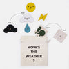 lifestyle_2, Moon Picnic Weather Station Children's Educational Pretend Play Toy